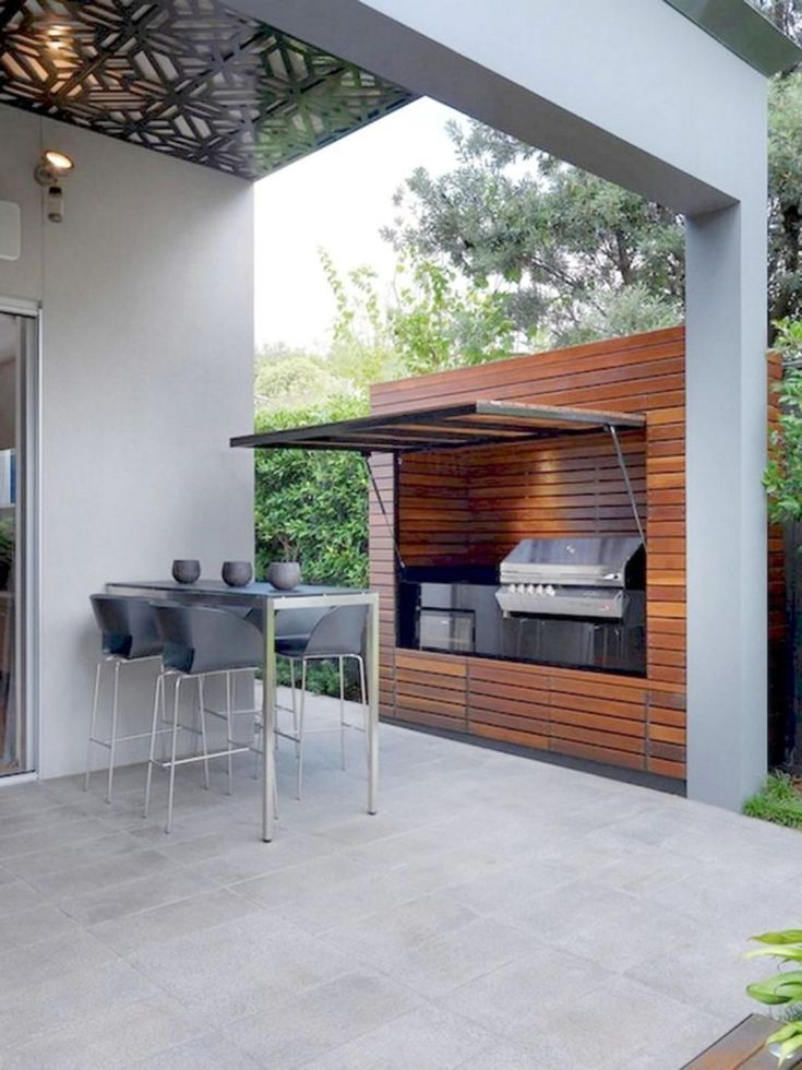 13 fantastic outdoor kitchen bar design ideas for relax